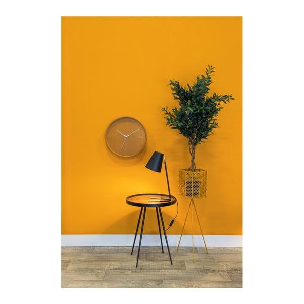 Sada 2 okrově žlutých kovových stojanů na květináče PT LIVING Hexagon