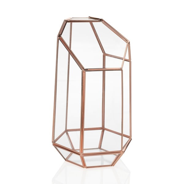 Terariu de sticlă Andrea House Goldie, înălțime, 23,5 cm