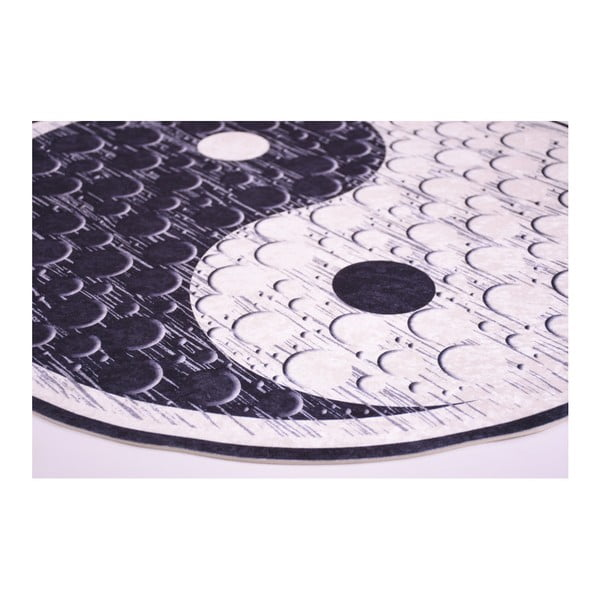 Odolný koberec Vitauss Rossano, ⌀ 80 cm