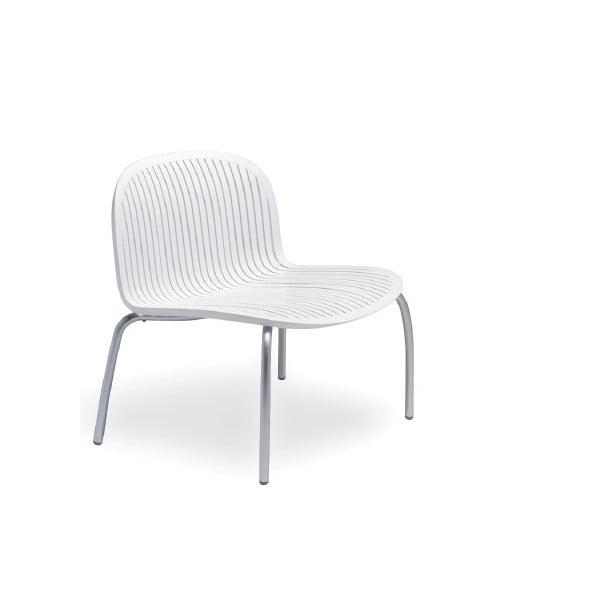 Židle Ninfea Relax Bianco, bílá