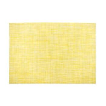 Suport pentru farfurie Tiseco Home Studio Melange Simple, 30x45cm, galben de la Tiseco Home Studio