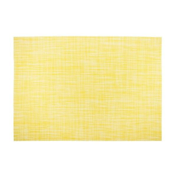 Żółta mata stołowa Tiseco Home Studio Melange Simple, 30x45 cm