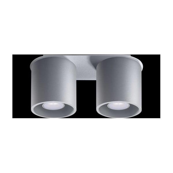Šedé stropní světlo Nice Lamps Roda2