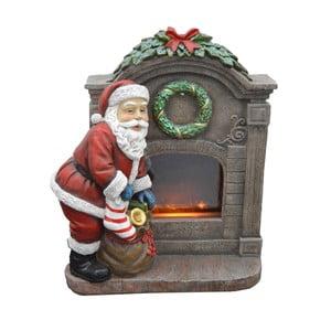 Svítící LED dekorativní soška Ewax Fireplace