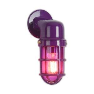 Fialové nástěnné svítidlo Miloo Home Factory
