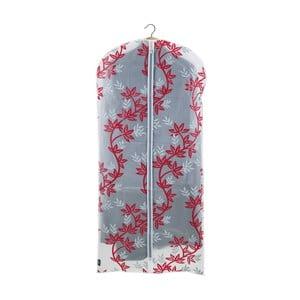 Červenobílý obal na šaty Domopak Living