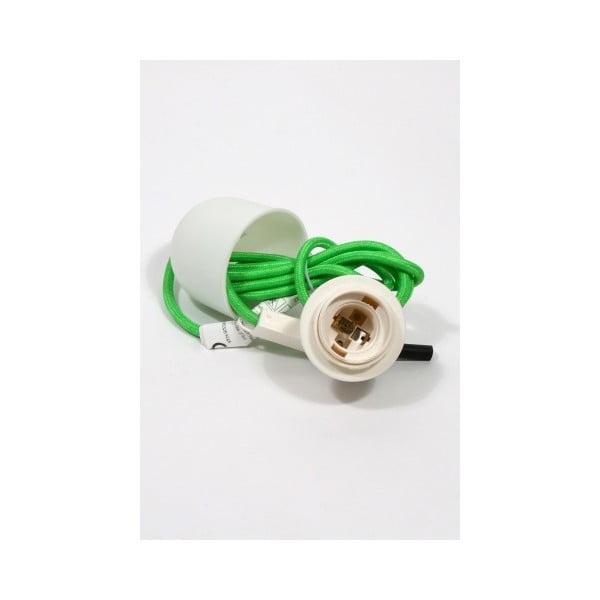 Textilní stropní kabel Earth Friendly, zelený