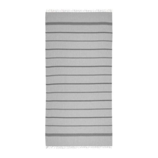 Prosop hammam Loincloth Line Grey, 80x170 cm