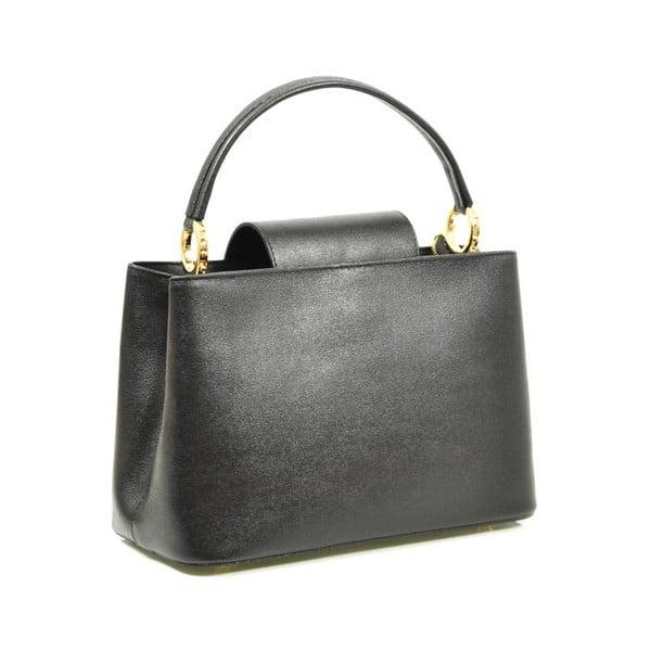Kožená kabelka Sophia, černá