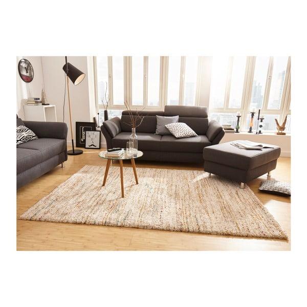 Krémový koberec Mint Rugs Nomadic, 200 x 290 cm vlas