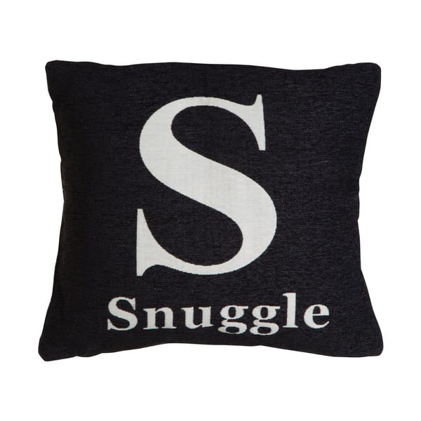 Polštář snuggle Black, 45x45 cm