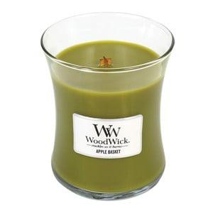 Lumânare parfumată  WoodWick Coș de mere, 275 g, 60 ore