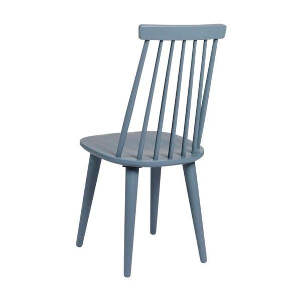 Scaun din lemn de stejar Folke Nymph, albastru