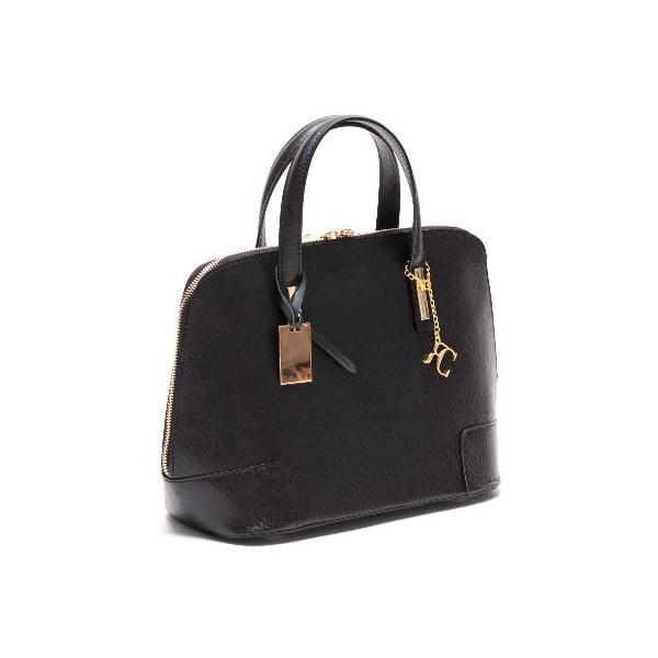 Kožená kabelka Renata Corsi 418 Nero