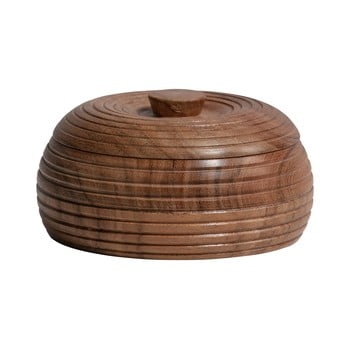 Recipient din lemn de salcâm BePureHome, 11 x 6 cm