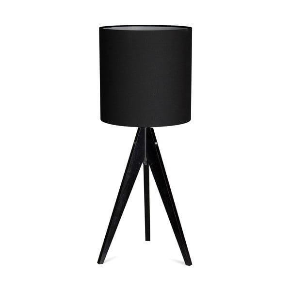 Stolní lampa Artist Black/Black, 40x25 cm