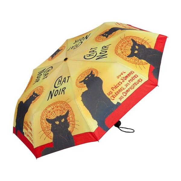 Skládací deštník Von Lilienfeld Chat Noir, ø 90 cm