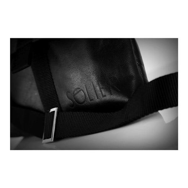 Pánská kožená taška Solier SL31, černá