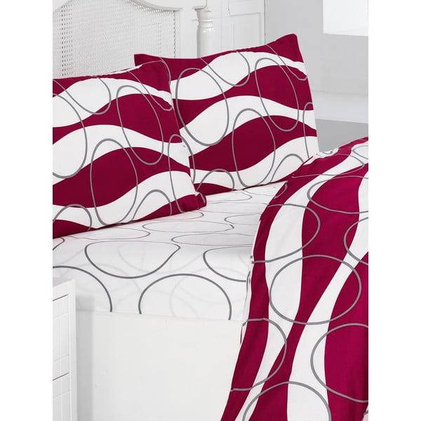 Povlečení Elenor Red, 160x220 cm