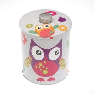 Barevná dóza Versa Buho Owl, výška 13,8 cm