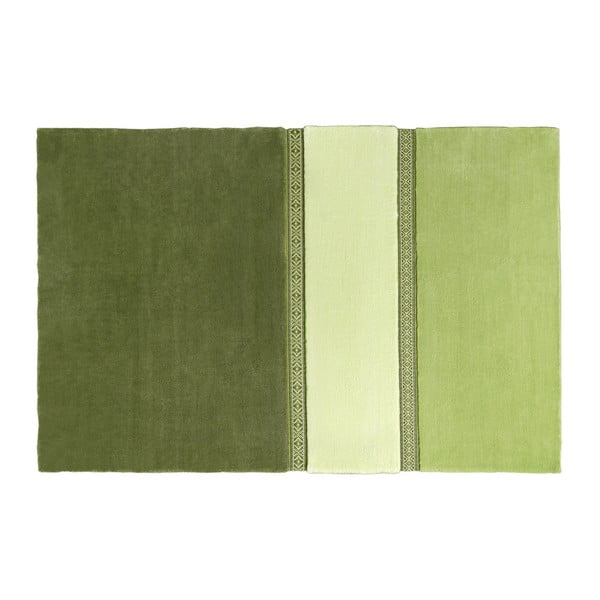 Koberec Lietuva EMKO, zelený