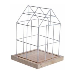 Dekorace House Cage, bílá