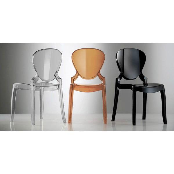 Židle Queen 650, hnědá
