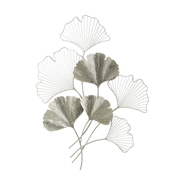 Kovová závěsná dekorace ve stříbrné barvě MauroFerretti GoxySilver, 62x86cm
