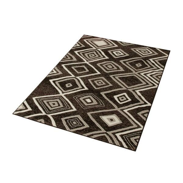 Šedý koberec Prime Pile, 60x110 cm
