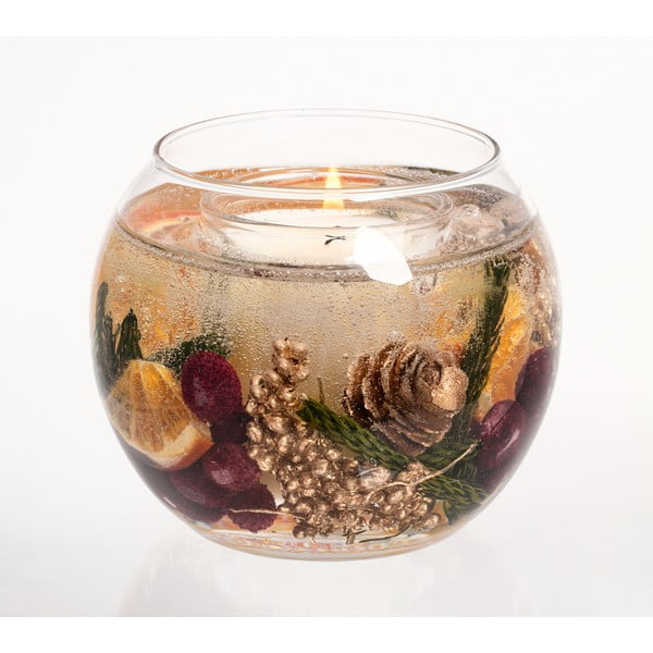 Kulatá svíčka Botanical, zimní koření