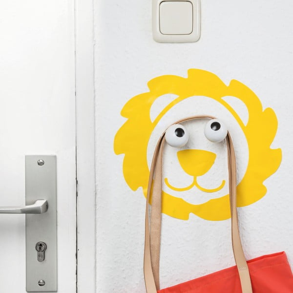 Cârlig decorativ și autocolant de perete Donkey Leo Look