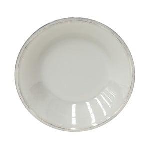 Farfurie ceramică pentru supă Costa Nova Friso, 26 cm, gri