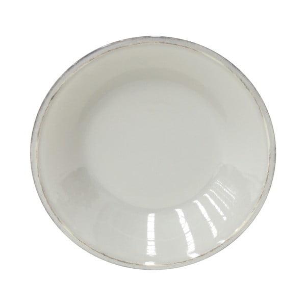 Šedý kameninový polévkový talíř Costa Nova Friso, ⌀26cm