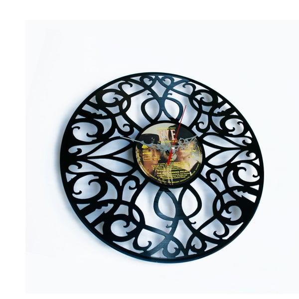 Vinylové hodiny Deco