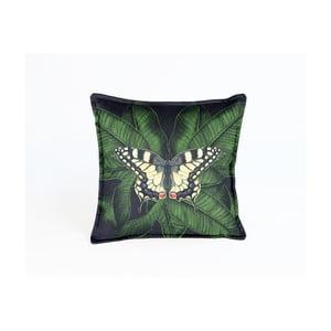 Dekorativní polštář Velvet Atelier Butterfly, 45 x 45 cm