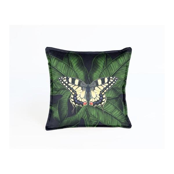 Față de pernă decorativă Velvet Atelier Butterfly, 45 x 45 cm