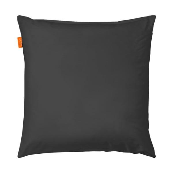 Povlak na polštář Basic Black, 80x80 cm