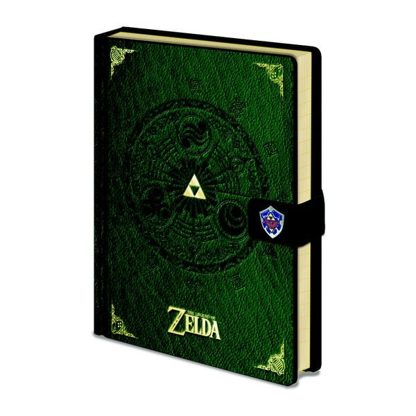 Caiet A5 Pyramid International The Legend Of Zelda PU, 120 pagini