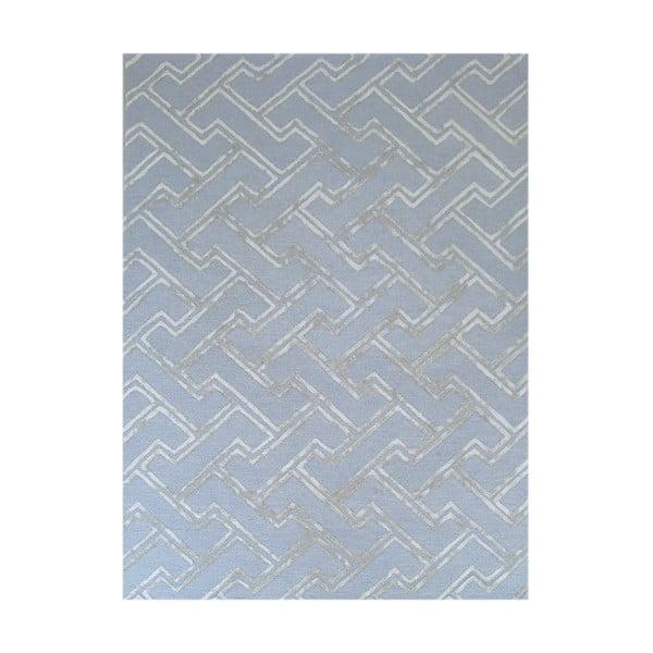 Koberec Stapple Light Blue, 153x244 cm