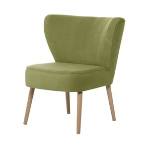 Zelené křeslo My Pop Design Hamilton