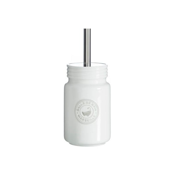 Toaletní kartáč se stojánkem Cosas de Casa Puro Blanc
