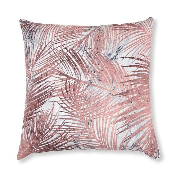 Różowa poszewka na poduszkę La Forma Jund, 45x45 cm