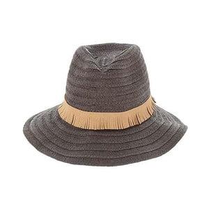 Hnědý slaměný klobouk BLE by Inart
