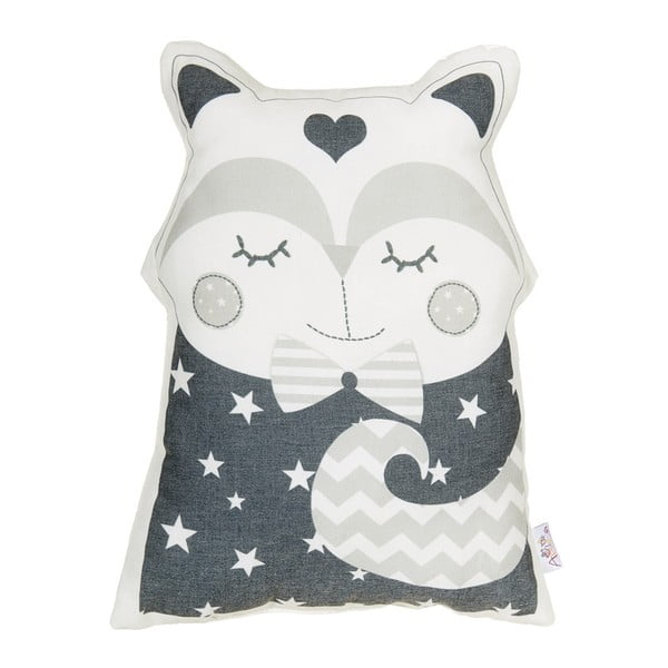 Pernă decorativă Apolena Pillow Toy Smart Cat, 23 x 33 cm, gri