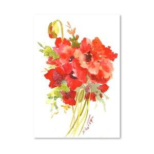 Plakát Poppies od Suren Nersisyan