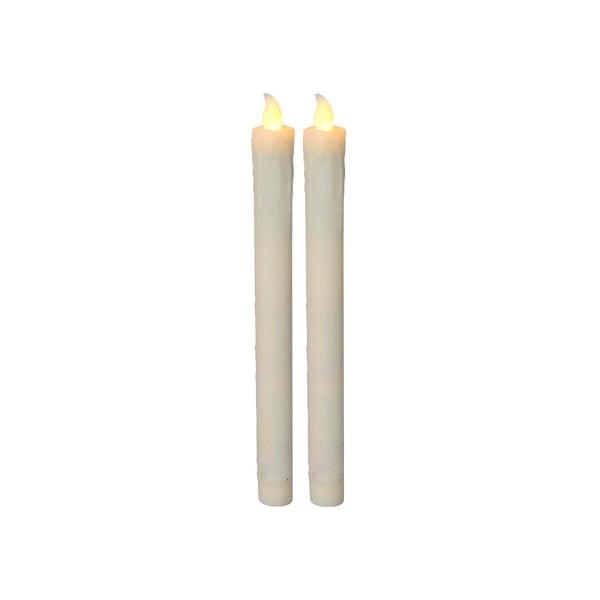 Sada 2 LED svíček Long Candles, 23 cm