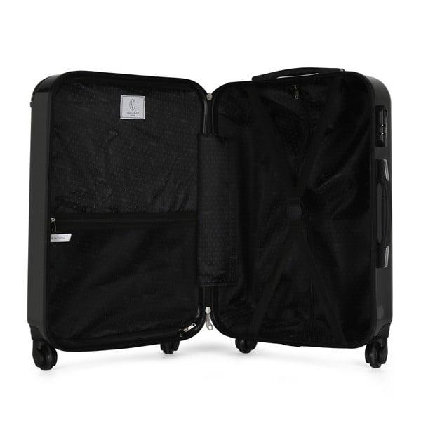 Tmavě šedý cestovní kufr na kolečkách VERTIGO Valise Grand Format Duro, 89l