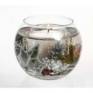 Kulatá svíčka Botanical, bříza bělokorá