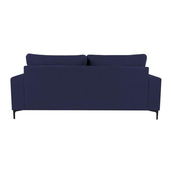 Tmavě modrá třímístná pohovka Kooko Home Cancan