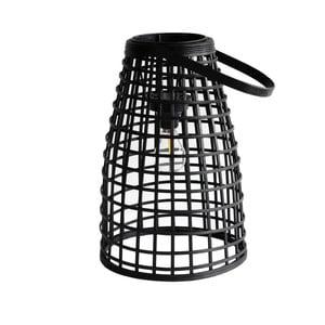 Šedá ratanová stolní lampa Red Cartel Malang